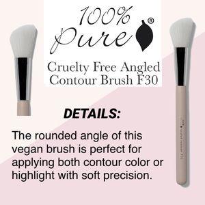 100% PURE: Angled Contour Brush F30
